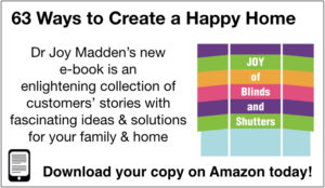 The Joy of Blinds and Shutters: 63 Ways to Create a Happy Home